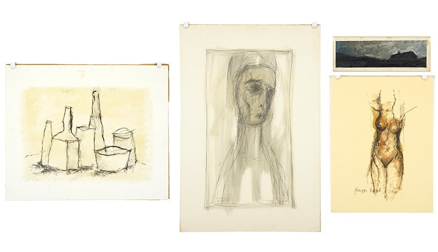 Giuseppe Napoli (American, 1929-1967) Four Works. - 3