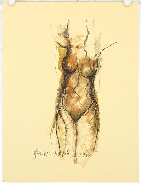 Giuseppe Napoli (American, 1929-1967) Four Works. - 4