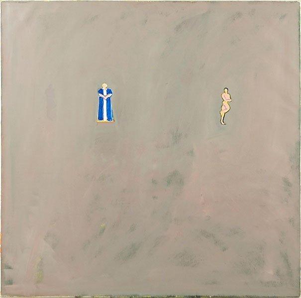 Riduan Tomkins (British, 1941-2009) Two Figures.