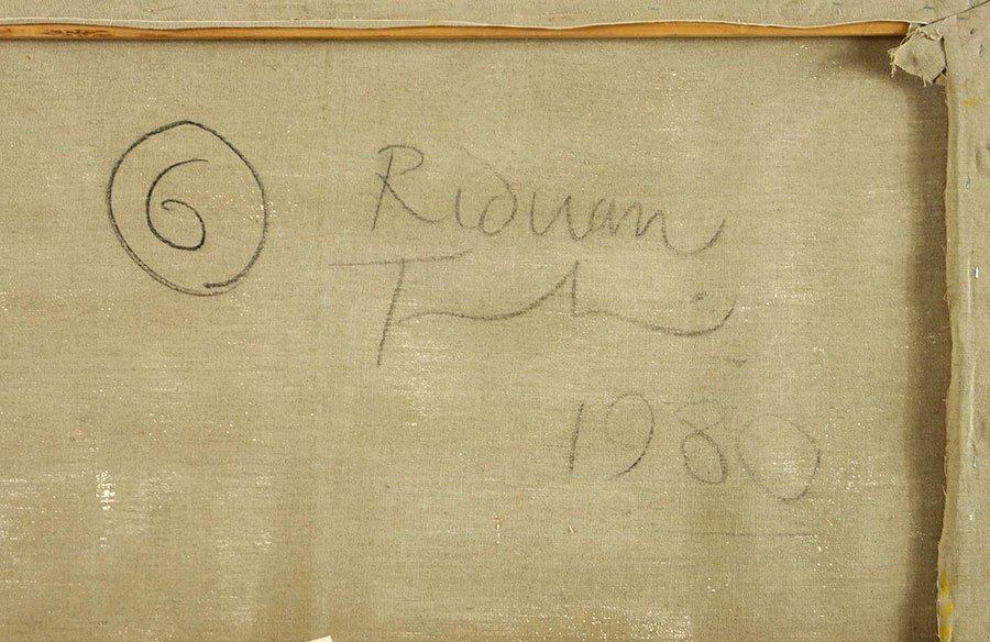 Riduan Tomkins (British, 1941-2009) Two Figures. - 2