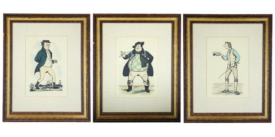 Philip G. Reed (1908-1989) Three Woodblock Prints. - 2
