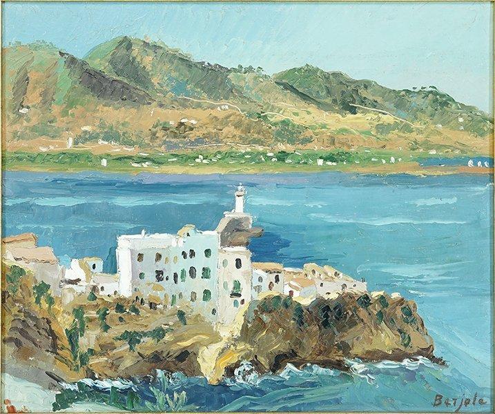 Pierre Louis Berjole (French, 1897-1990) Ibiza