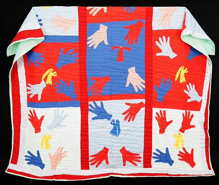 Sarah Mary Taylor (American, 1916-2000) Hand Quilt.