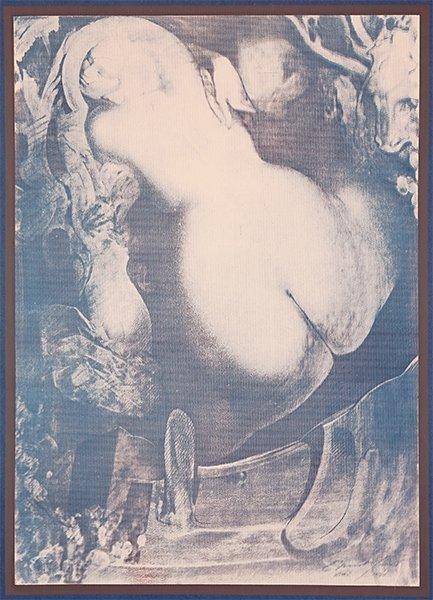 Ernst Fuchs (German, 1930-2015) Title Unknown. - 3