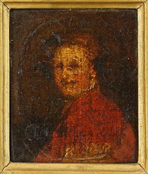 Artist Unknown (18th Century) Portrait of a Man.