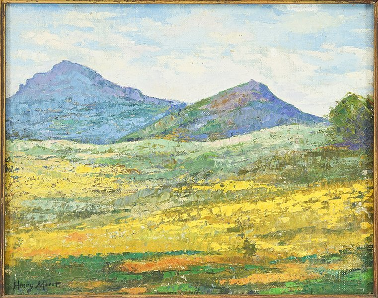 Artists Unknown (20th Century) Two Landscapes. - 2