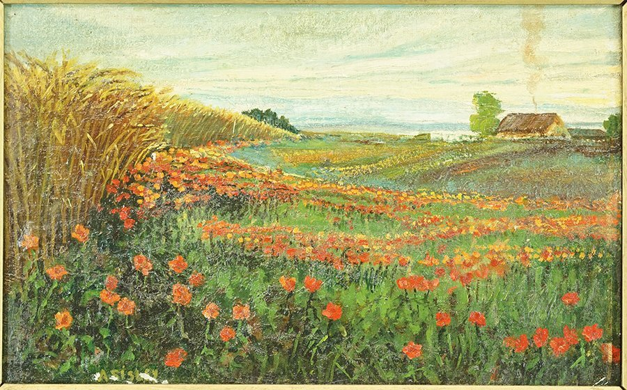 Artists Unknown (20th Century) Two Landscapes. - 3