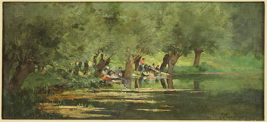 In the Manner of Charles Francois Daubigny (French,