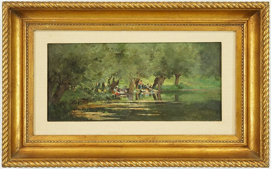 In the Manner of Charles Francois Daubigny (French, - 2