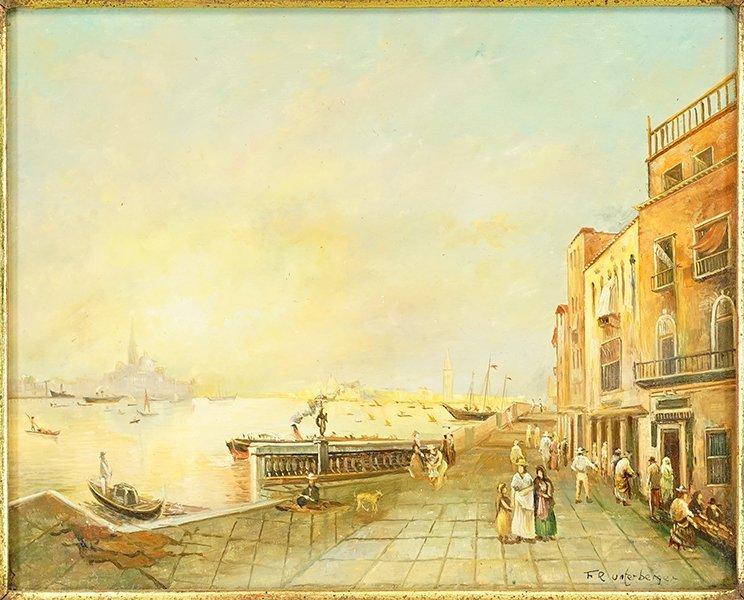 Artist Unknown (British, 20th Century) Venice.