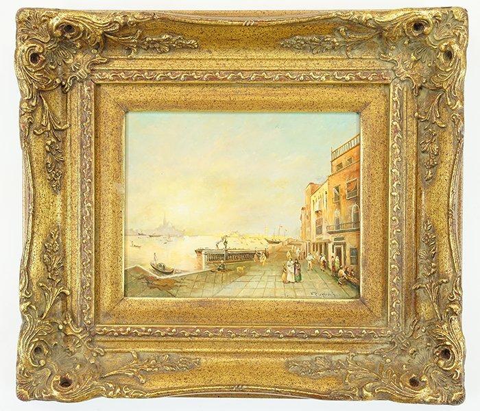 Artist Unknown (British, 20th Century) Venice. - 2