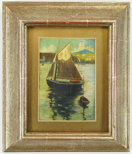 After Paul Gaugin (French, 19th Century) Boat at - 2