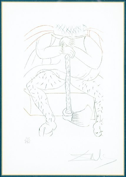Salvador Dali (Spanish, 1904-1989) Henry VIII from 'Mu.