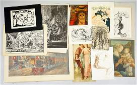 A Large Collection of Reproduction Prints.