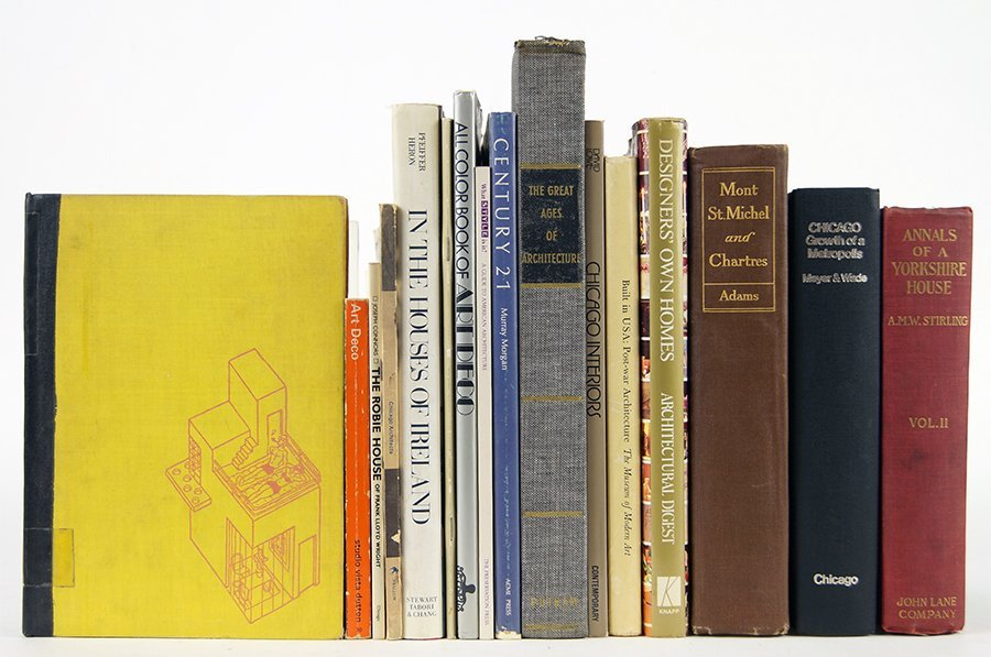 A Collection of Architecture Books.