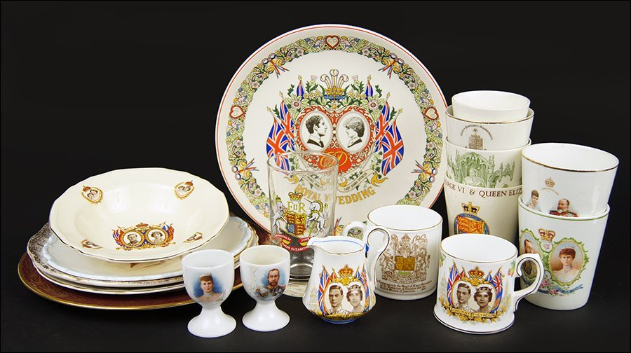 A Collection Of British Royal Family Memorabilia.