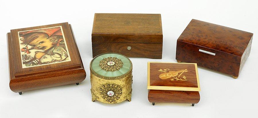 A Thoren Swiss Music Box.