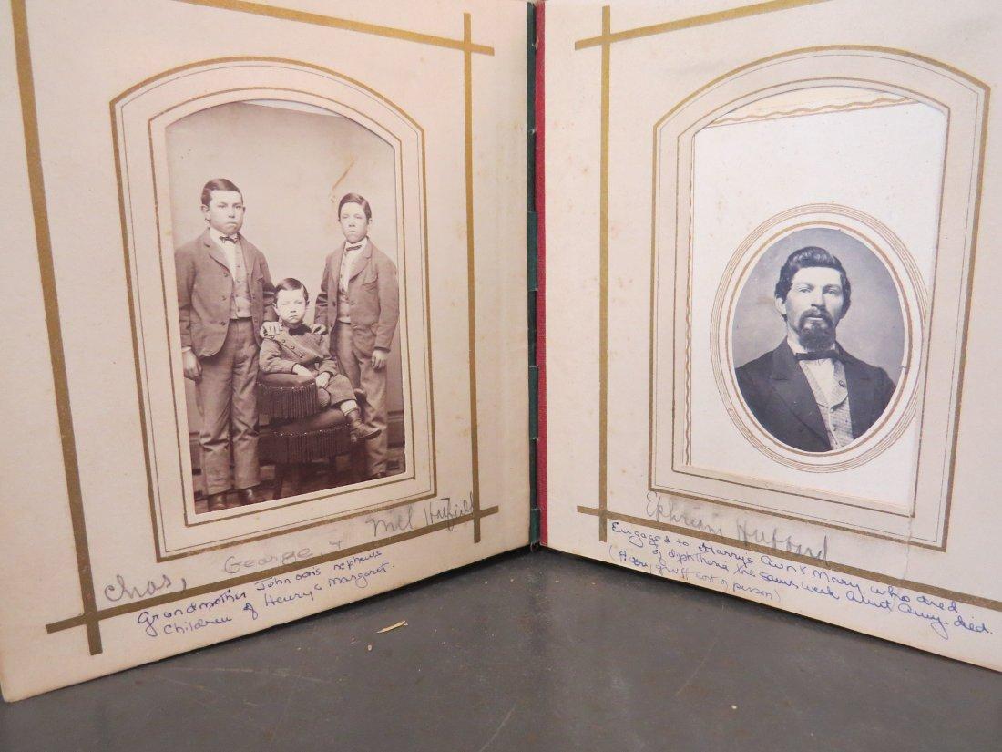 Four Partial Photograph Albums. - 10