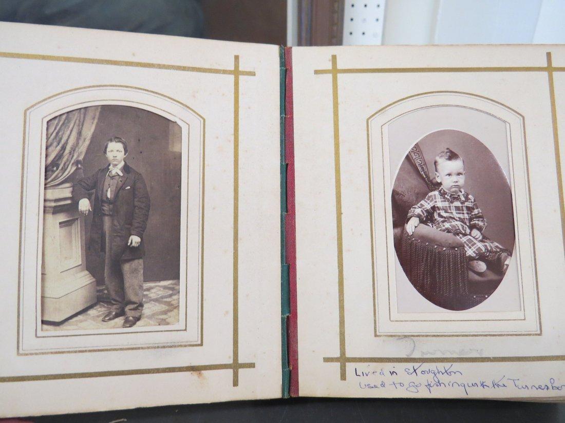 Four Partial Photograph Albums. - 4