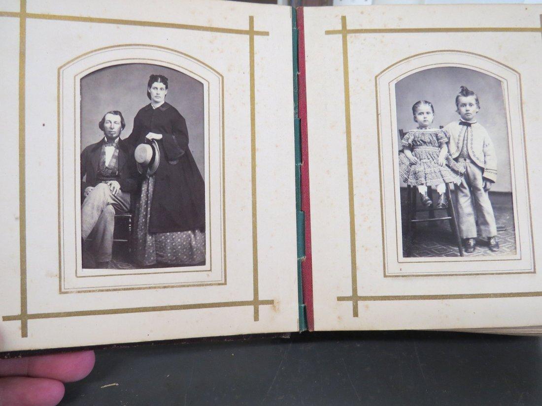 Four Partial Photograph Albums. - 5