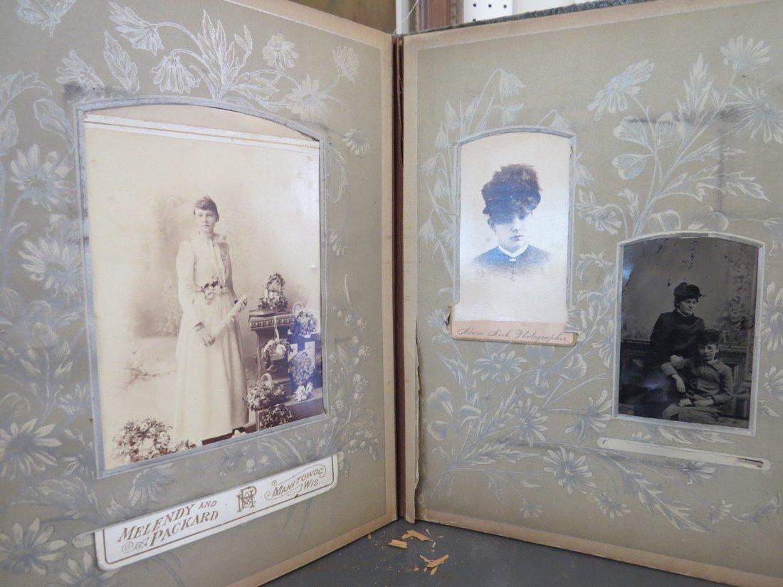 Four Partial Photograph Albums. - 9