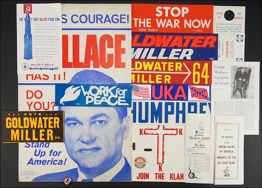 A Collection of Political Ephemera.