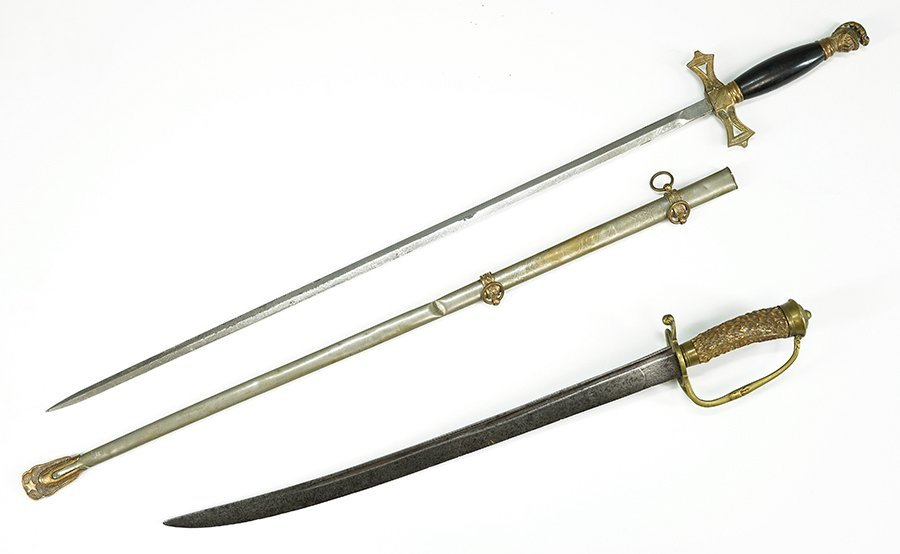 A Knights of Columbus Ceremonial Sword.