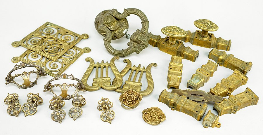 A Collection of Mountings and Hardware.