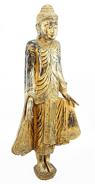 A Standing Figure of Buddha.