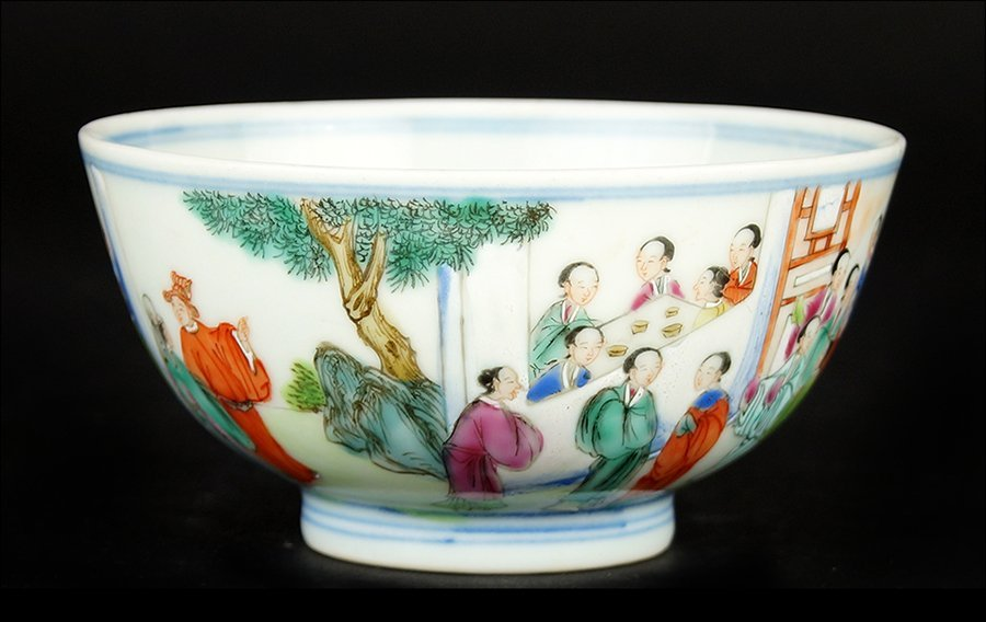 A Chinese Qing Dynasty Porcelain Bowl.