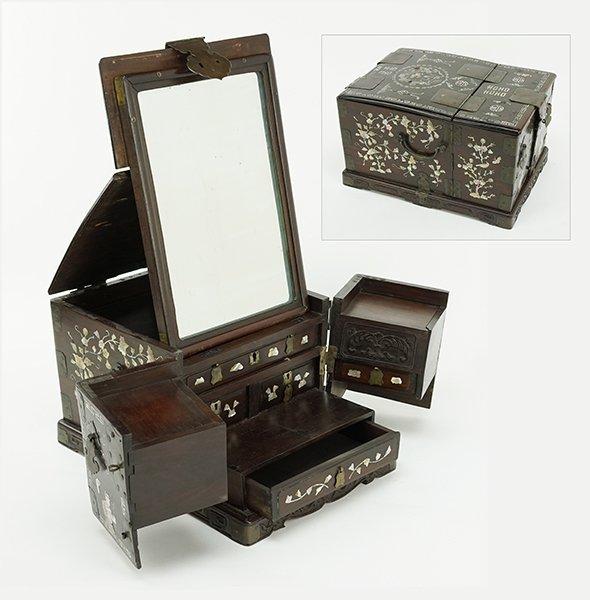 A Chinese Makeup Box.