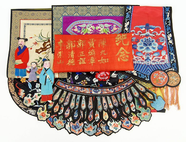 A Collection of Chinese Silk Embroideries.