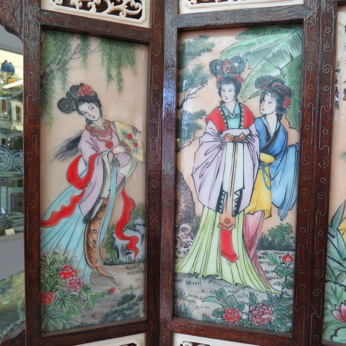A Chinese Table Screen. - 3