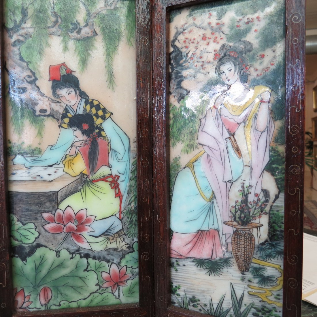 A Chinese Table Screen. - 5