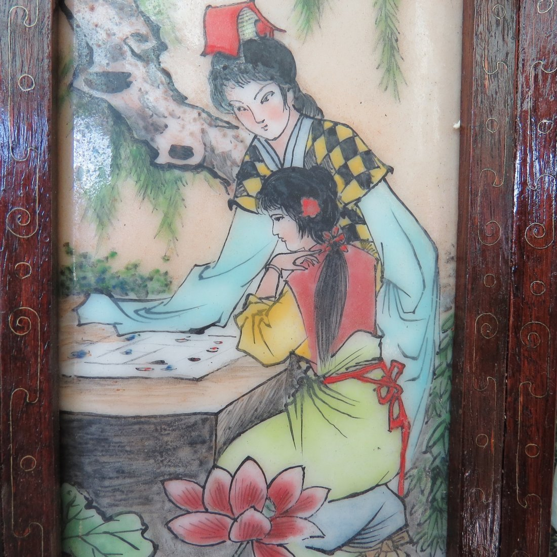 A Chinese Table Screen. - 7