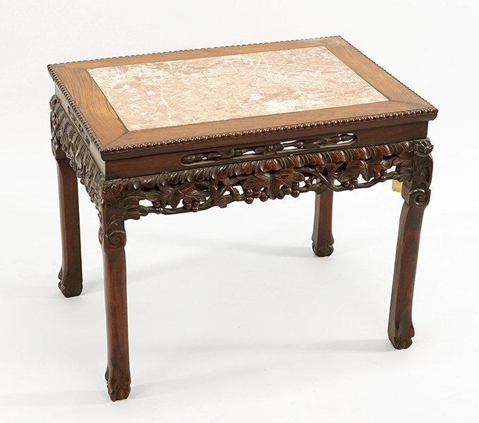 A Chinese Rosewood Occasional Table.