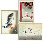 Ono Bakufu (Japanese, 1888-1976) Fish.