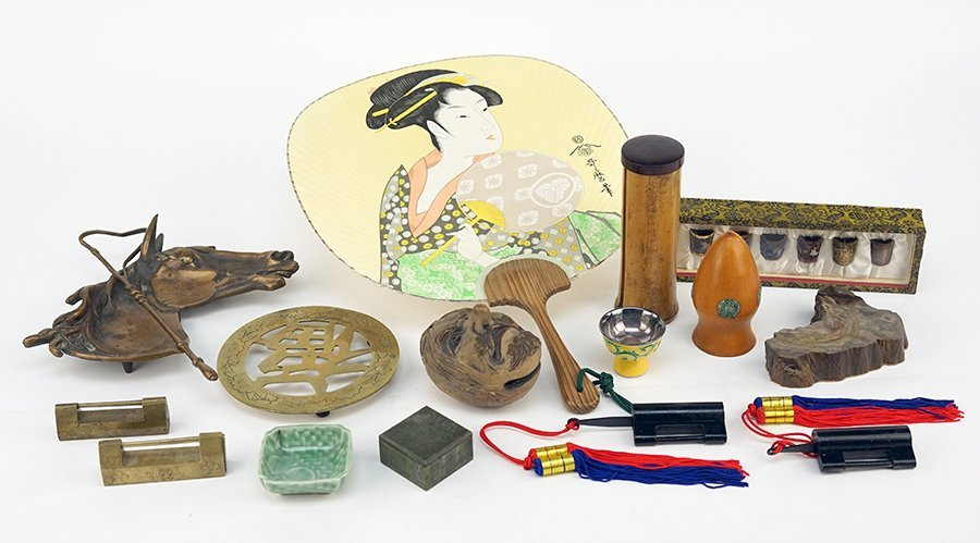 A Collection of 20th Century Asian Items.