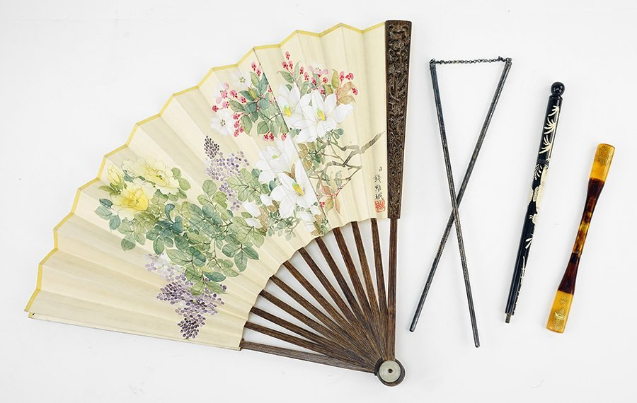 A Group of 20th Century Japanese Items.