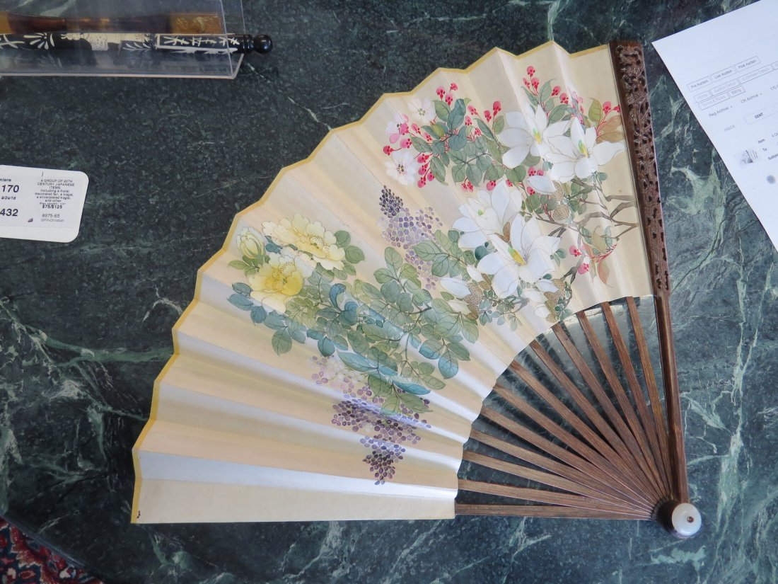 A Group of 20th Century Japanese Items. - 2