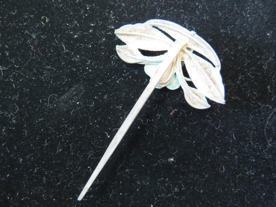 Four Chinese Hair Pins. - 10