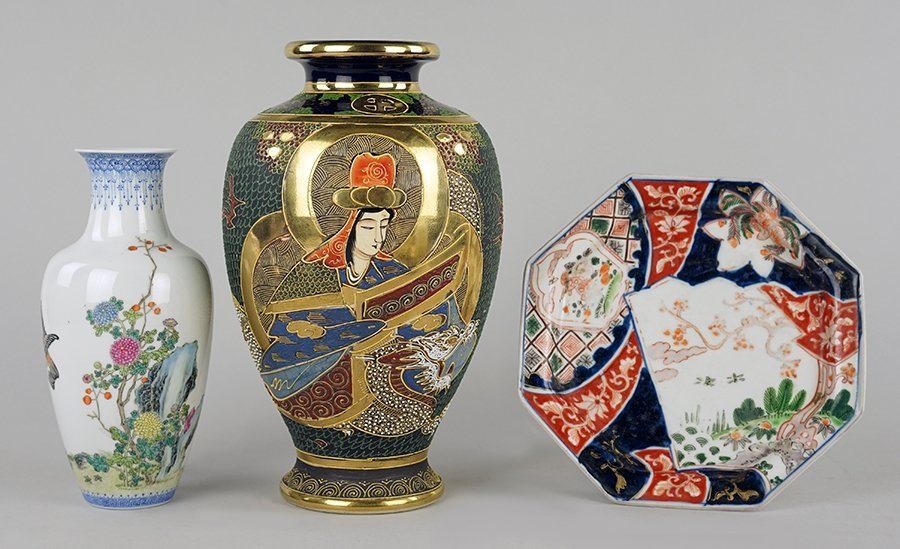 A Chinese Eggshell Porcelain Vase.