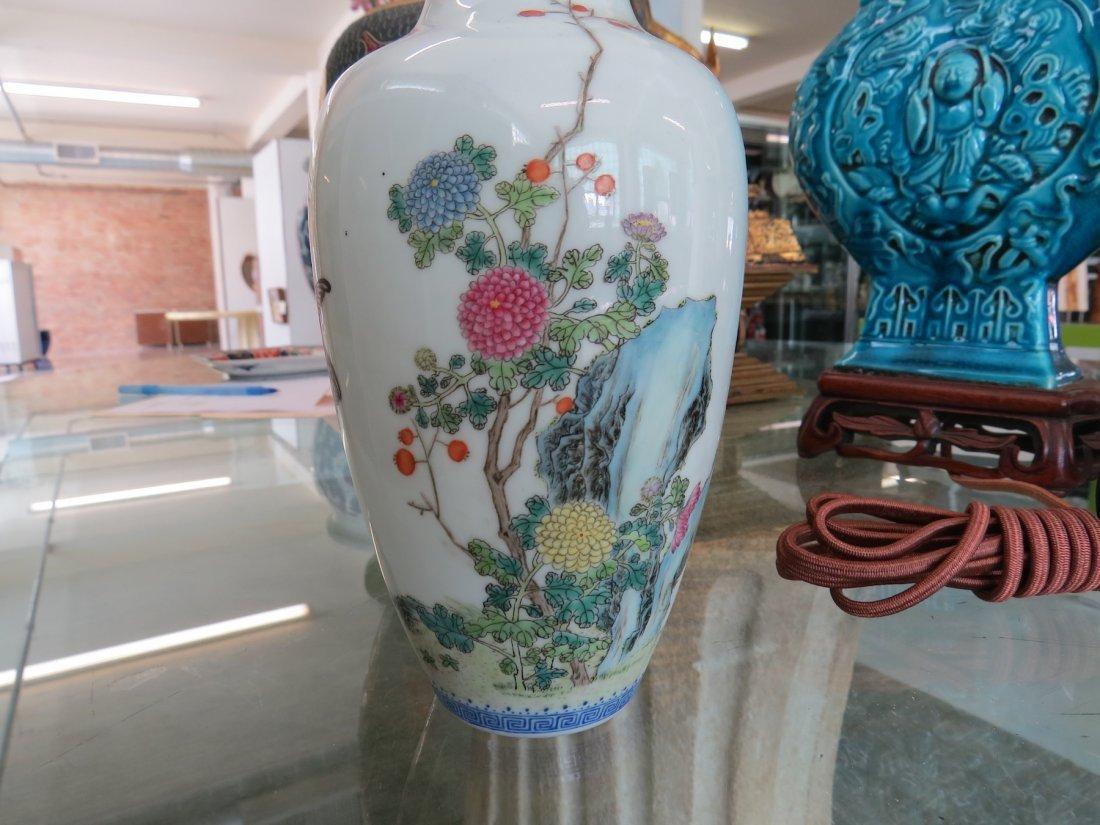 A Chinese Eggshell Porcelain Vase. - 2