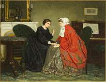 Jan Antoon Neuhuys (Dutch, 1832-1891) De Vertrousting.