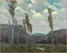 Carl R. Krafft (American, 1884-1938) Ozark Zephyrs.