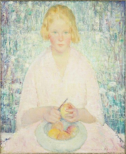 Murray Percival Bewley (American, 1884-1964) Portrait