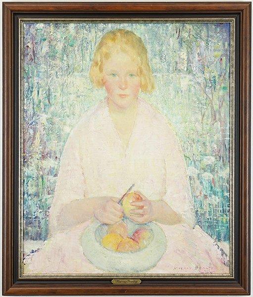 Murray Percival Bewley (American, 1884-1964) Portrait - 3