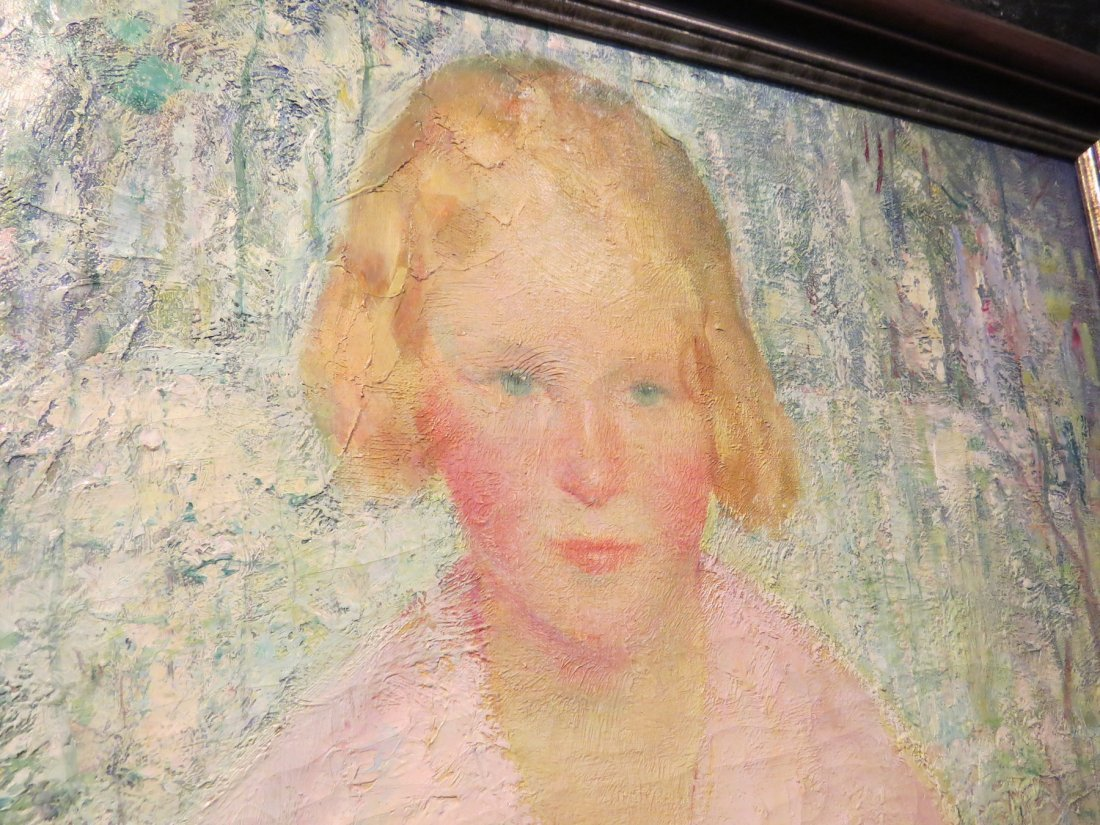 Murray Percival Bewley (American, 1884-1964) Portrait - 8