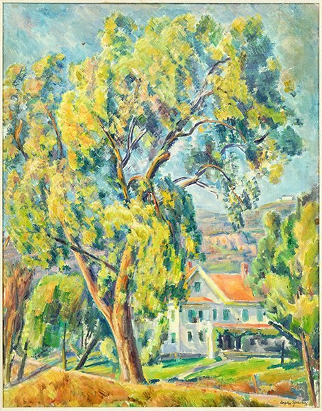 Eugene Speicher (American, 1883-1962) A View Through