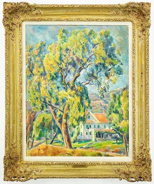 Eugene Speicher (American, 1883-1962) A View Through - 3